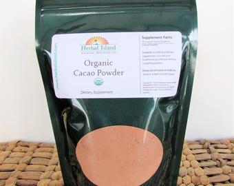 Cacao Powder - Product of Peru, Gluten Free, Vegan, Kosher, NON-GMO