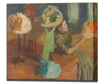 Edgar Degas Canvas Art Millinery Shop Canvas Wall Art Print Ready to Hang Home Decor