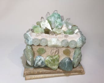 Serpentine Treasure Box