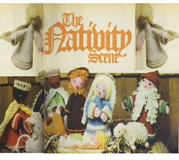 Patron pdf crochet altar nino jesus para navidad-decoracion de
