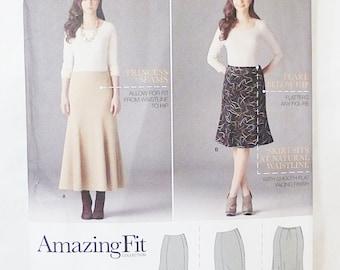 Simplicity skirts sewing pattern 2058 size AA 10-18
