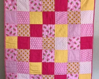 Baby Quilt Little Miss Sunshine