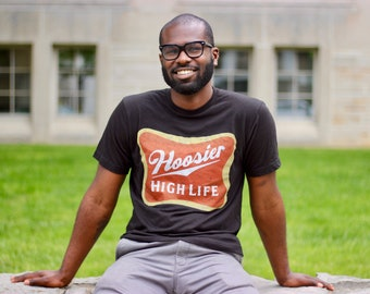 Hoosier High Life Fitted T-Shirt