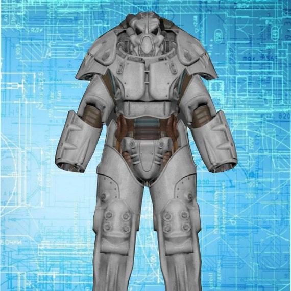 Fallout 4 x 01 power armor blueprints for eva foam build malvernweather Gallery