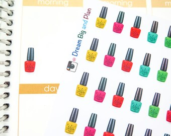 Nail Polish Planner Stickers! DBP69