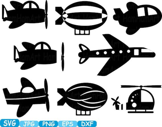 Plane Toys Airplane Monogram Cutting Files Svg Clipart