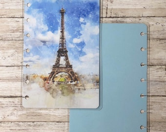 Eiffel Tower Mini Happy Planner Cover