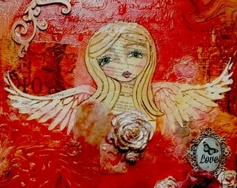 Angel Love ~ Art Print