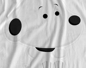 Peanuts - Snoopy Sit - Iron On T-Shirt Transfer