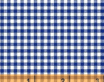 Gingham Check - Navy/White 29401-2 by Windham Fabrics - Cotton Fabric Yardage