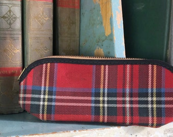 Original Abercrombie & Fitch, Plaid Eyewear Case Sporting Goods Outdoorsmen
