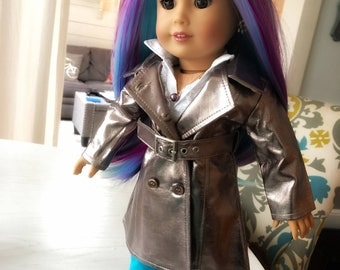 EXAMPLE Rainbow Chic Urban Glam OOAK Custom Doll - Made to Order
