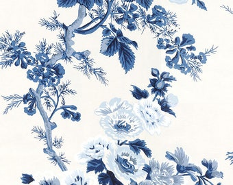 Wallpaper- F. Schumacher PYNE HOLLYHOCK by the Double Roll