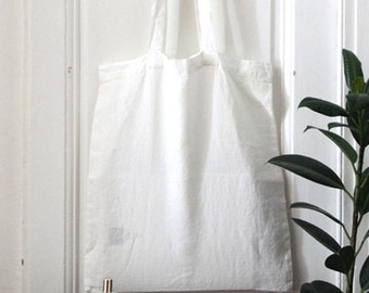 TOTE BAG personalize washed linen bag