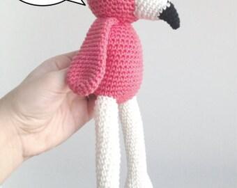 Pattern for Flamingo Amigurumi
