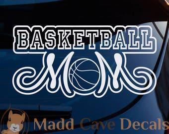 Basketball Mom Vinyl Decal Car Graphic Sticker Window