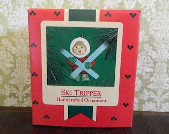 "Hallmark Keepsake Child Ornament ""Ski Tripper"""