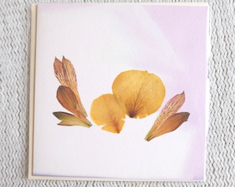 3D Botanical Greetings Card