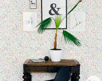 Modern Removable wallpaper / Multicolor Self Adhesive or Traditional Wallpaper