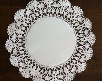 "50 ct. 10"" White Cambridge Paper Lace Doilies Wedding Decor Gift Wrap Doily"