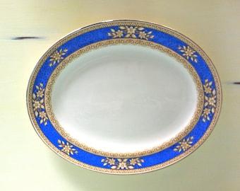 """W. R. Midwinter """"Rockwood"""" Oval Platter/Midwinter Porcelain/English Porcelain/Midwinter Porcelain/Porcelain Oval Platter/Porcelain Serving"""
