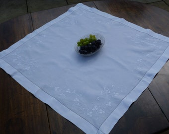 Supper Tablecloth, Irish Linen and Whitework, Small