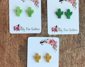 Cacti earrings , Cactus earrings, succulent earrings