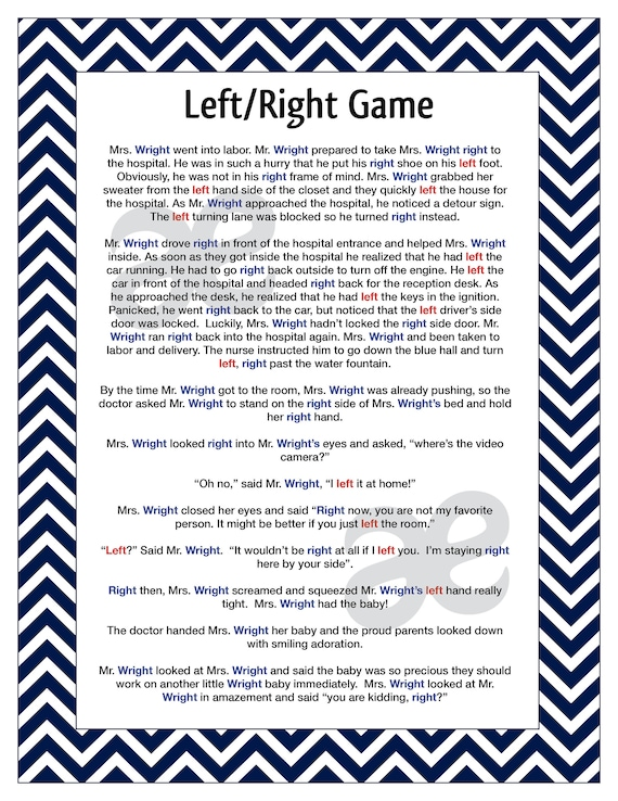 Candid image in free printable left right christmas game