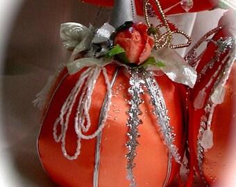 Fairy Tale Pumpkin Soft Sculpture Small