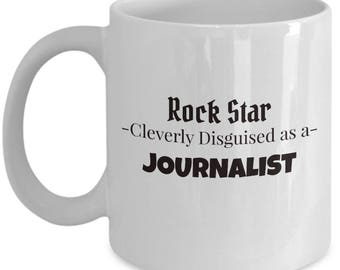 Journalist Coffee Mug | Best News Writer Gift | Tea Mug for Journalist
