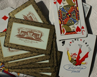 Vintage Playing Cards - Hagerstown Playing Cards - Remembrance Deck of Cards - Ringer Electric Service Inc. - Hagerstown Maryland