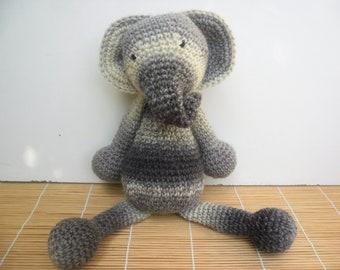 Crochet ELEPHANT toy PLUSHIE