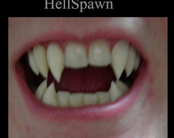 Hellspawn Fangs (Custom made from scratch)