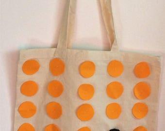 Tote Bag - Yellow Dots