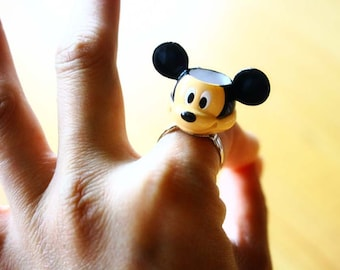 Mickey Mouse teacup ring