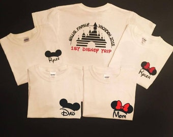 Matching Disney Shirts, Family Vacation Shirts, Minnie Mickey Mouse Shirt, Disney Family Shirts - Disney Shirts 534