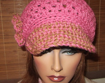 Urban Gal Newsboy Crochet Pattern