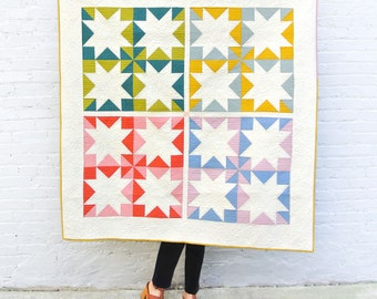 Suzy Quilts PATTERN - Stars Hollow Quilt