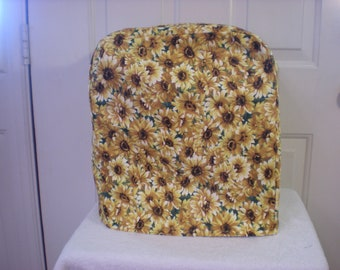 Appliance Cover - Standing Mixer Cover - Yellow Daisy