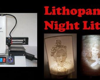 Lithopane Night Lights