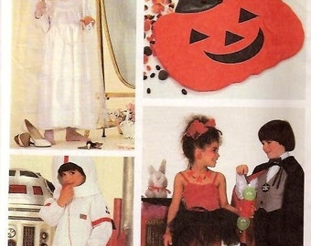 McCall's 9277  DRESS UP Magician and Assistant, Astronaut, Bride Costumes ca. 1984