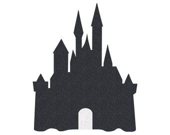 DISNEY CASTLE shaped cork board, Disney pin display board notice message photos small large corkboard home decor birthday pinboard