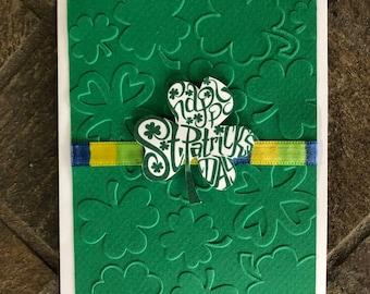 St Patricks Day card/st pattys day/happy st patricks day