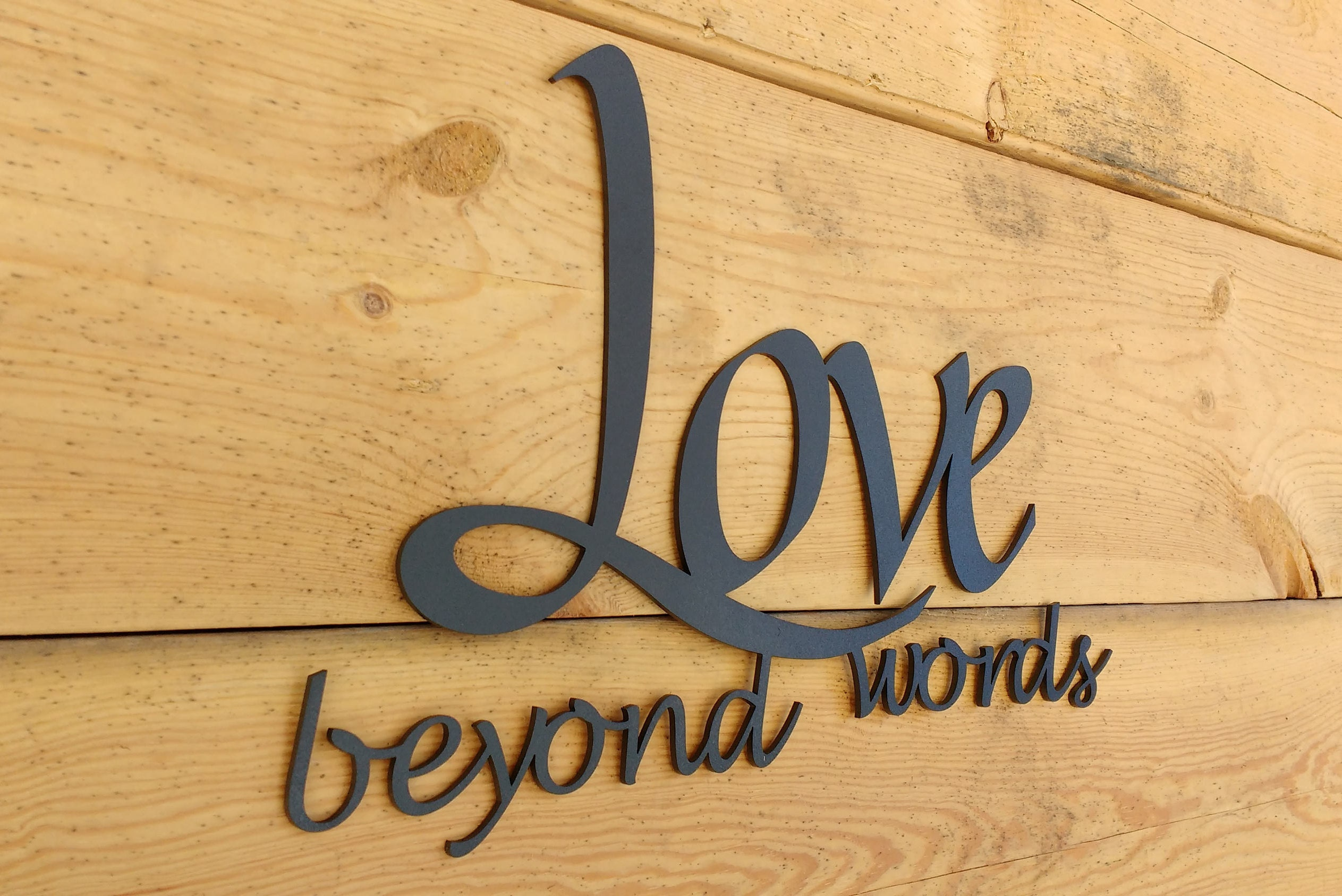 Enchanting Beyond Words Wall Decor Ensign - The Wall Art Decorations ...