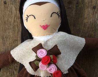 Saint Therese of Lisieux - Sleepy Saint Doll