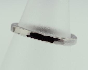 Hammered Palladium Trinket Ring- Stackable