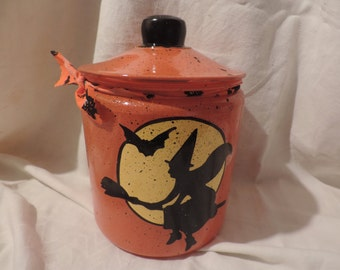 Halloween cookie jar PERSONALIZED FREE!!!