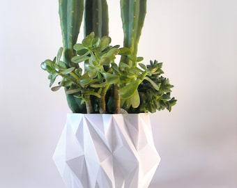 Plant Pot Modern Centerpiece Large Planter Modern Large White Succulent Planter Modern Cactus Pot Large Pot