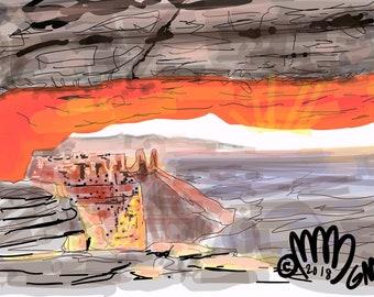 Grand Canyon Bright Orange