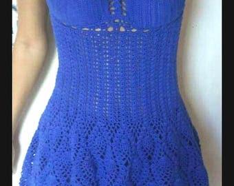 Crocheted Pineapple Sundress - Made to Order